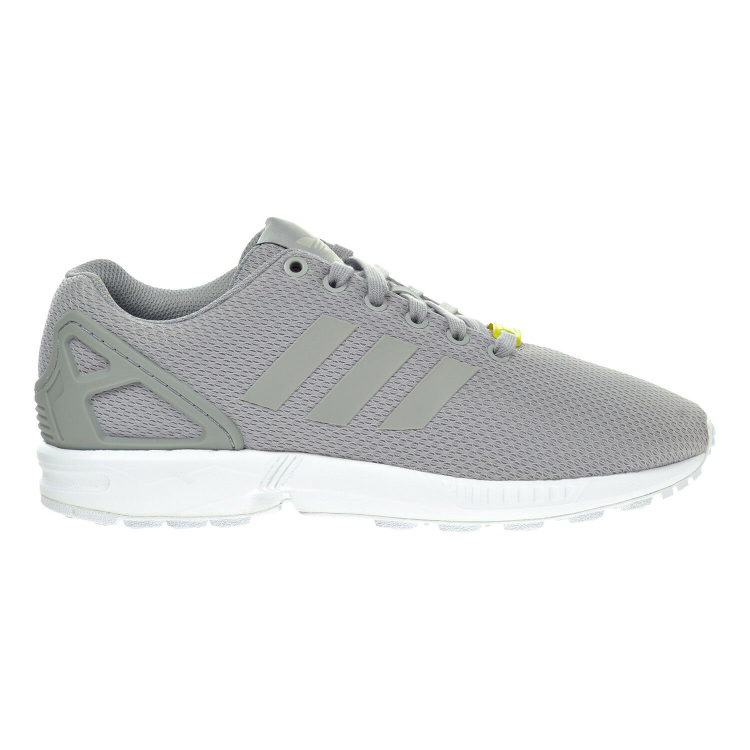 c8b379f7d Men s adidas ZX Flux Light Granite White Originals Sneaker M19838 Sz ...