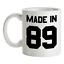 Made-in-039-89-Mug-30th-Compleanno-1989-Regalo-Regalo-30-Te-Caffe miniatura 1
