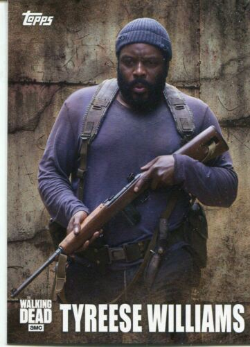 Walking Dead Season 5 Profiles Chase Card C-9 Tyreese Williams