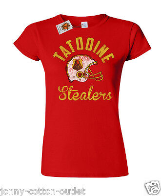 Tatooine Stealers football ladies T-shirt womens inspired by Star Wars 42
