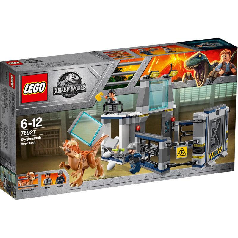 Lego Jurassic World Stygimoloch Laboratory Breakout 75927 NEW