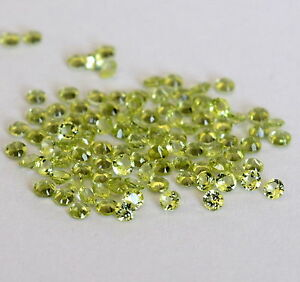 5-PIECES-OF-2mm-ROUND-FACET-STRONG-GREEN-NATURAL-AFGHAN-PERIDOT-GEMSTONES