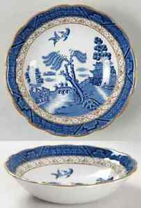 Booths-REAL-OLD-WILLOW-BLUE-Cereal-Bowl-6309070