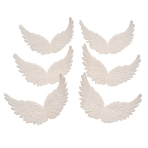 White Plastic Wing Angel Wings Festive Decoration Crafts Ornament Christmas Gift