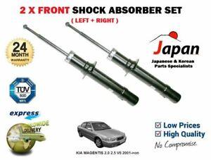 RIGHT SHOCK ABSORBER SHOCKER SET FOR KIA MAGENTIS SALOON 2005-/> 2 X FRONT LEFT
