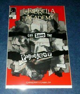 UMBRELLA-ACADEMY-dallas-1-1st-print-GERARD-WAY-MCR-DARK-HORSE-2008-NETFLIX-NM