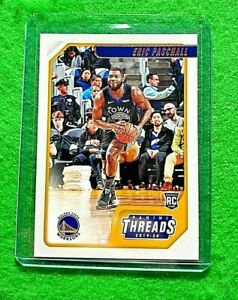 ERIC-PASCHALL-PANINI-THREADS-ROOKIE-CARD-WARRIORS-2019-20-CHRONICLES-THREADS-RC
