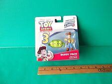 "Disney Toy Story Peas in Pod & Woody 2.5""in Figure Action Links Mattel 2009"