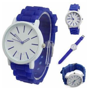Uhren & Schmuck Genf Uhrenarmband In Quarz Gummi/silikon Modernes Design It