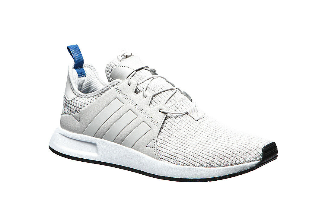 Men's Adidas Originals X_PLR Running shoes White Grey bluee BY9258 Knit SZ 7-13 DS
