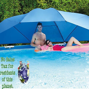 Intex Swimming Pool Accessories Umbrella Large Sun Shade for Above ...