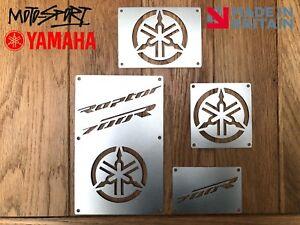 * Yamaha Raptor 700 Plates Fender Tags Badges Warning. 2006 - 2012 * Stainless