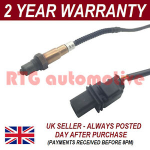 FRONT 5 WIRE WIDEBAND OXYGEN LAMBDA SENSOR FOR BMW 3 SERIES 2.0I E90 E91 05-07
