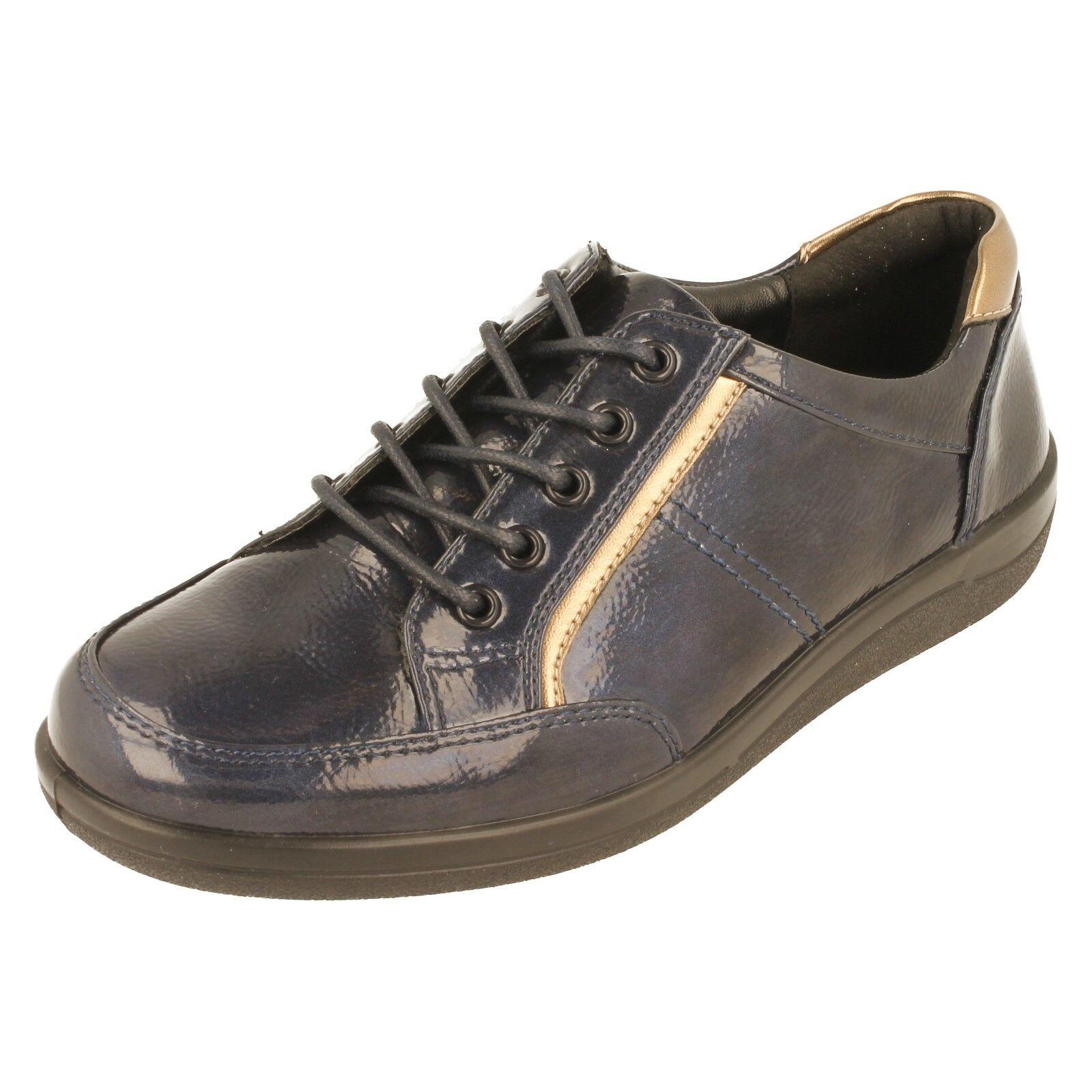 Damen Padders Schnürer Schuhe mit weiter Passform Passform Passform Schuhe - Atom d4fb5b