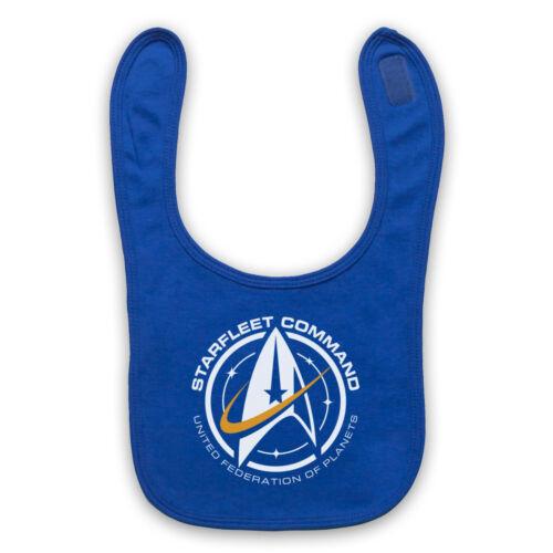 Star Trek Starfleet Command-Fédération de planètes Bavoir Bébé Mignon Bébé Cadeau