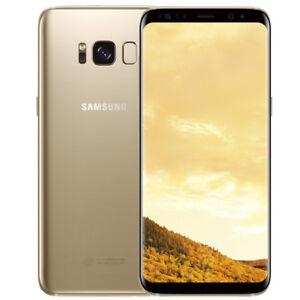 Samsung-Galaxy-S8-Plus-SM-G955U-64-Go-Desimlocke-4G-GSM-Telephones-6-2-034-Dore