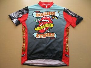 Primal Wear Rolling Stones Tattoo You Cycling Jersey Adult
