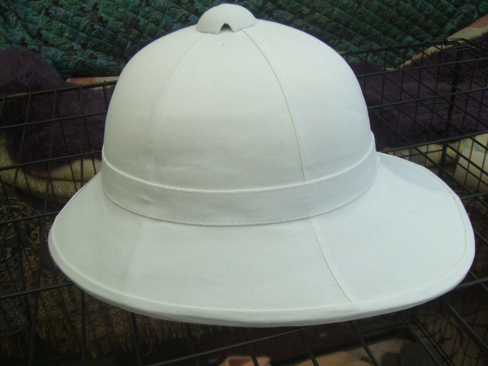 WOLSELEY STYLE HOME SERVICE MILITARY DRESS PARADE EXPLORER PITH HELMET SUN HAT