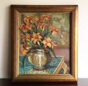 Art Deco Still Life Paintings