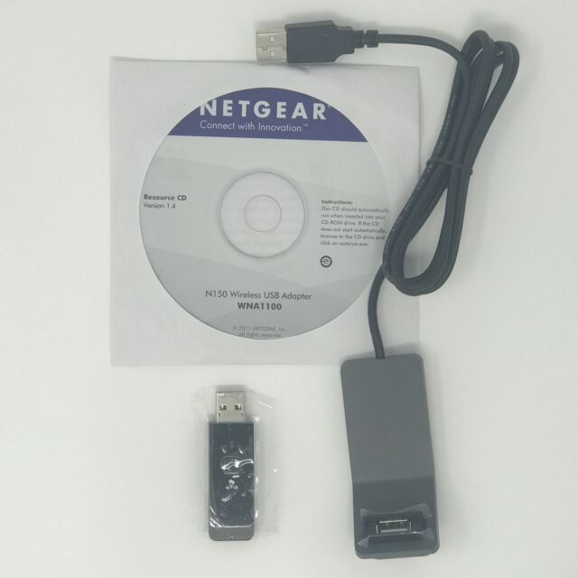 NETGEAR WNA1100 N150 Wireless Wifi Wlan card 802.11N USB Adapter F Windows 7 8