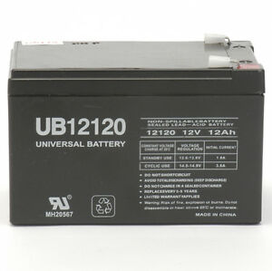 UPG APC Replacement BK650MC UPS battery 12V 12Ah F2