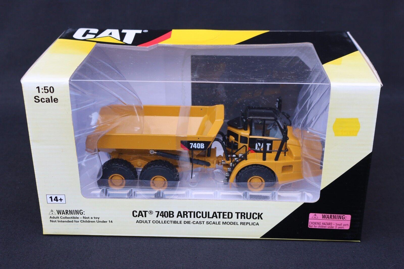 Z104 Norscot Cat Motor Tp 1 50 55501 Cat 740b Artuclated Truck Camión Articulado
