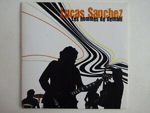 LUCAS-SANCHEZ-LES-HOMMES-DE-DEMAIN-CD-Album-Promo