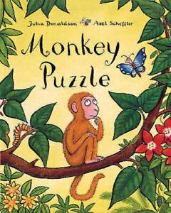 Julia-Donaldson-Story-Book-MONKEY-PUZZLE-Story-Paperback-2019-NEW