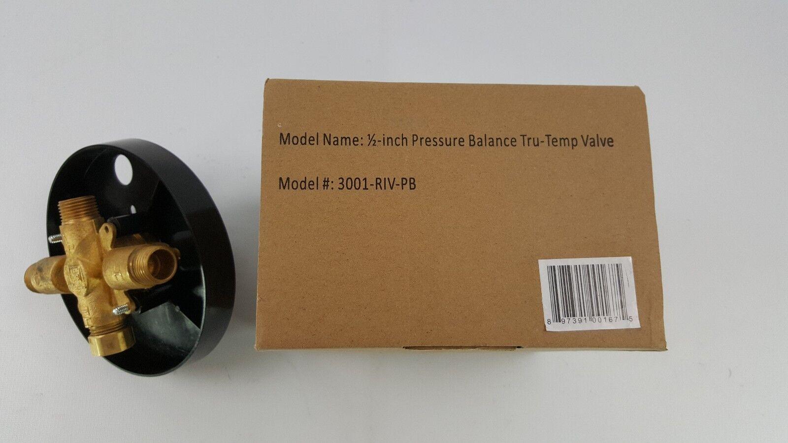 3001rivpbch Pulse Shower Spas 3001-RIV-PB-CH Trutemp Valve Chrome