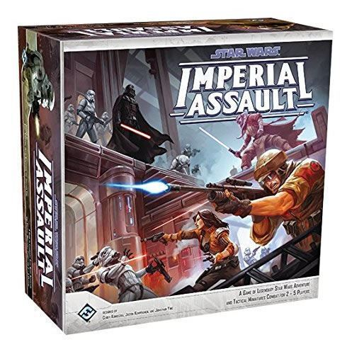 STAR WARS IMPERIAL ASSAULT BOARD GAME BASE SET  2 TO 5 PLAYERS