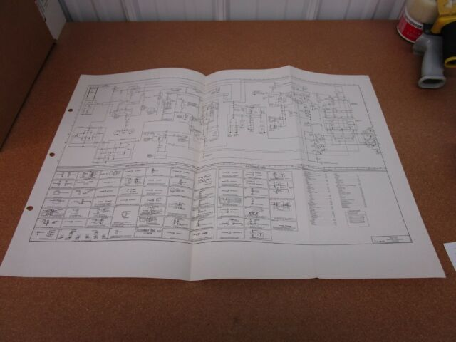1974 74 Ford Courier electrical wiring diagram SHEET ...