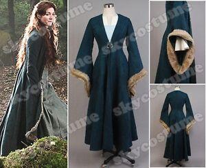 Game-of-Thrones-Catelyn-Stark-Cosplay-Costume-Dress
