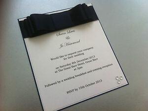 Personalisedhandmade wedding invitation card and envelopes multi image is loading personalised handmade wedding invitation card and envelopes multi stopboris Images