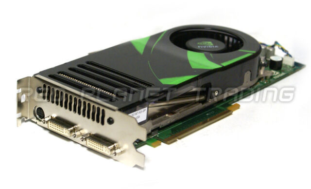 Genuine Dell Nvidia GeForce 8800GTX 768MB DDR3 PCIE Dual DVI Graphics Card DU356