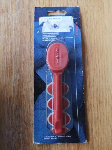 Kit anti-crevaison simple action Pneu Levier /& 4 x Red Devil Self Seal Patches