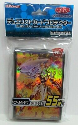 55 Warrior/'s Strike Structure Deck Sleeves OCG Japan YuGiOh