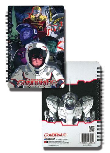 Gundam Unicorn Notebook New Unicorn Cast Anime Licensed ge43135