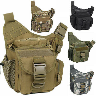 Waterproof DSLR Camera Shoulder Bag Backpack Daypack Padded Insert Rucksack New