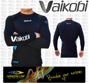 Vaikobi VCold L/S Base Layer Paddle Shirt. River Ocean Surf Warm Baselayer