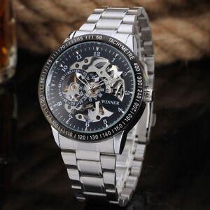 New-Mens-Automatic-Mechanical-Analog-Waterproof-Transparent-Skeleton-Wrist-Watch
