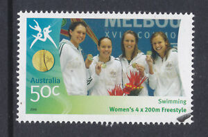 2006-COMM-GAMES-50c-STAMP-SUPERB-CTO-FULL-GUM-SCAN-A28