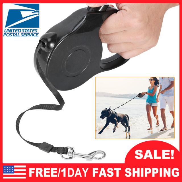 16.4ft Retractable Dog Leash Automatic Flexible Pet Cat Traction Rope Belt Leash