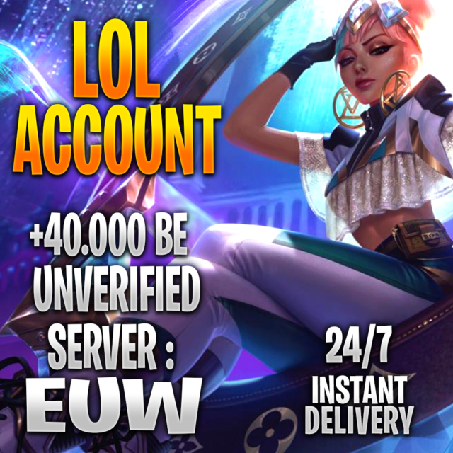 League of Legends UNRANKED Account EUW Level 30 SMURF LoL ...