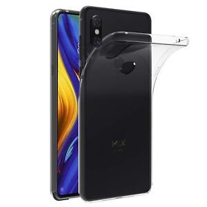 Transparent-Cover-fuer-Xiaomi-Mi-Mix-3-Handy-Huelle-Silikon-Case-Schutz-Tasche