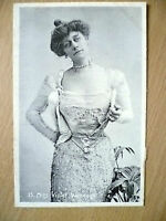 Postcard- Theater Actresses MISS VIOLET VANBRUGH, No. 25