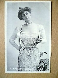 Postcard-Theater-Actresses-MISS-VIOLET-VANBRUGH-No-25