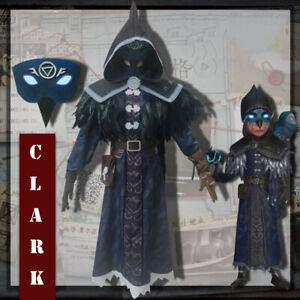Game Identity V Cosplay Costumes Night Owl Skin Seer Eli Clark