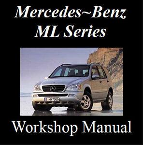 mercedes ml320 ml350 ml430 ml500 m500 1997 2005 workshop manual on rh ebay com au 2000 mercedes ml430 owners manual pdf 1999 mercedes ml430 owners manual
