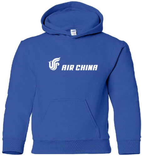 Air China Vintage Logo Chinese Airline HOODY