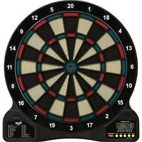 Soft Tip Electronic Dart Board Game Fat Cat Darts Viper Dartboard Set Sport
